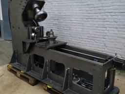 Кромкозгинальний фланжеровочний станок, відбортовуюча машина