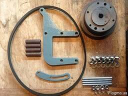 Кронштейн крепления компрессора Мтз двигатель Толщина 12 мм. Д243 и Д245