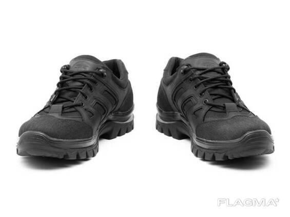 Кросівки TEDA Модель10 демісезонні шкіра+тканина (Black)