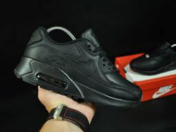 Кроссовки Nike Air Max 90 арт 20842 (черные, найк)