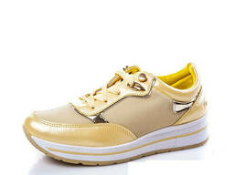 Кроссовки женские (желтые)