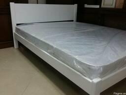 Кровать 1600/2000 БЕЛАЯ из натурального дерева.