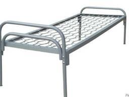 Кровать 190х70 спинка металлическая