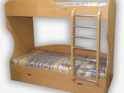 Кровать 2-яр. Фортеця Капитошка 80*200 ДСП 8410721