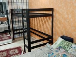 Кровать -чердак из натурального дерева от производителя 3000