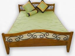 Кровать деревянная Фортеця Гера 140*200 ясень 8440829