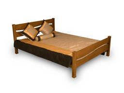"""Кровать деревянная Фортеця """"Волна"""" 160*200 дуб 8460020"""