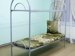 Кровать двухъярусная армейская металлическая ГОСТ