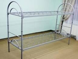 Кровать двухъярусная металлическая трансформер