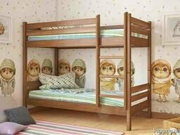 Кровать из дерева Л-302 детская/подростковая ТМ Скиф