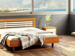 """Кровать из дерева """"Лантана"""". Натуральное дерево."""