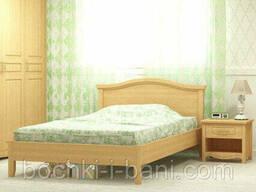 Кровать из массива ольхи