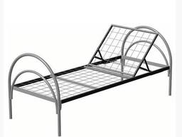 Кровать медицинская металлическая раскладная - фото 1