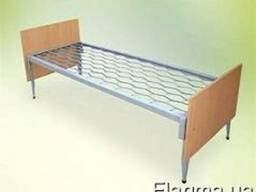 Кровать однояруская с спинками ДСП для общежитий