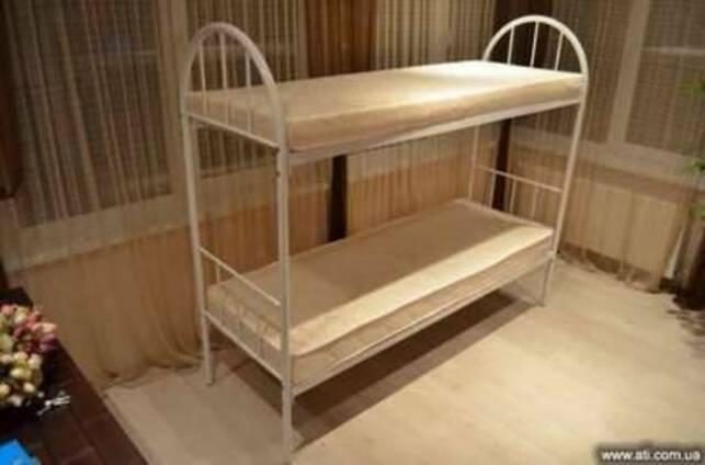 Кровать металлическая для хостелов