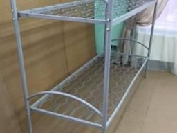 Кровать двухярусная метталическая 190*90 для общежитий