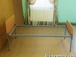 Кровать одноярусная, спинка ОДСП, 190*70, мебель эконом