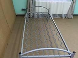 Кровать одноярусная металлическая на сетке ПКЕ 190х70