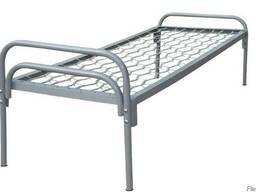 Кровать с металлической спинкой 190*70