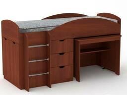 Кровать Универсал со столом и ящиками - фото 7