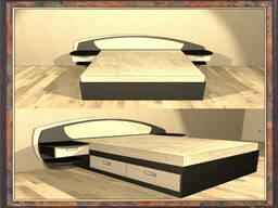 Кровати двуспальные, односпальные, двухъярусные кровати