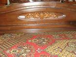 Кровати из массива с художественной резьбой - фото 5