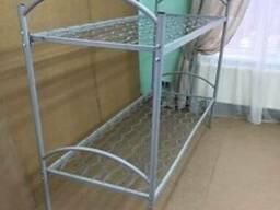 Кровати металлические двухъярусные