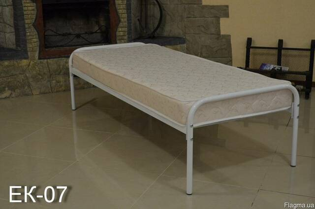 Кровати металлические односпальная для рабочих