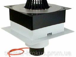 Кровельная воронка DrainBox DN125 с ПВХ-консолью и с электроподогревом (10-30Вт/230В). .. .