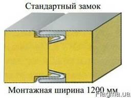 Кровельные сендвич панели пенопласт (100- 200 мм) Подробнее: