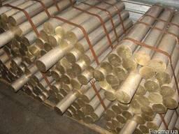 Бронзовые прутки БрАЖ9-4 Ø 20 - 150 мм купить недорого