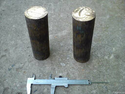 Круг бронзовый ф 60 20 мм марка БрАЖ9-4 , L- 185,180мм .