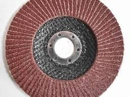 Круг лепестковый RIF 125 х 22 Т27 оксид алюминия Р60 Ялта
