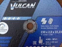 Круг отрезной по металлу Norton Vulcan 230x2