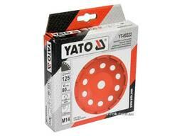 Круг шліфувальний алмазний YATO 125 х 22. 2 мм 12200 об/хв M14
