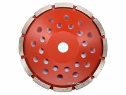 Круг шліфувальний алмазний YATO 180 х 22. 2 мм 6600 об/хв M14