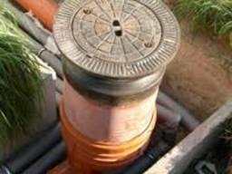 Круги канализационные пластиковые 80х1000х900мм