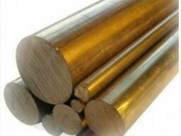 Круги латунные (прутки)ЛС 59 D 5мм до 130 мм