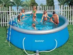 Круглые надувные бассейны Bestway для дачи и детей