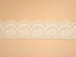 Кружево на торт белое (06)