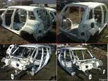 Крыша Боковина Четверть Fiat 500L 12-14 б/у - фото 1