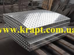 Крышка алюминиевая для колодца резервуара