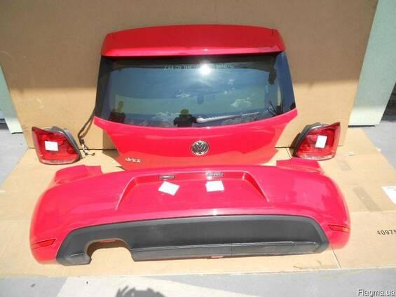 Крышка багажника Бампер задний Фонари VW Polo 6R 10-14