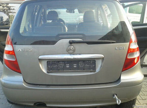 Крышка багажника фонари бампер Mercedes-Benz W169 04-12 б\у