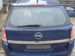 Крышка багажника фонари задние бампер задний Opel Astra H II