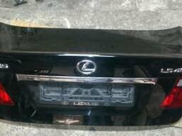 Крышка багажника зеркало защита двигателя Lexus LS460 long