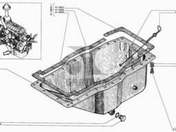 Крышка картера нижняя двигателя А-01М - фото 1
