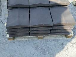Крышка забора бетонная, парапет 480*630мм. любой цвет
