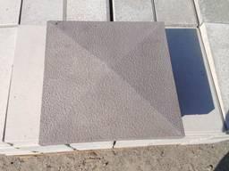 Крышка, накрывка парапет бетонный 390х390