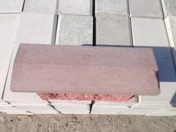 Крышка, накрывка парапет бетонный 500х180
